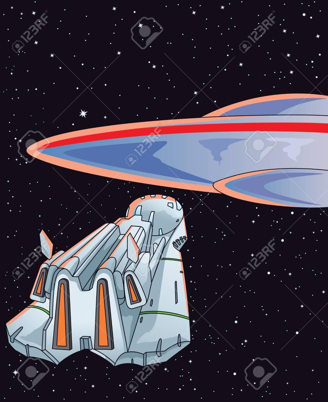 Alien encounter Stock Vector - 18528969