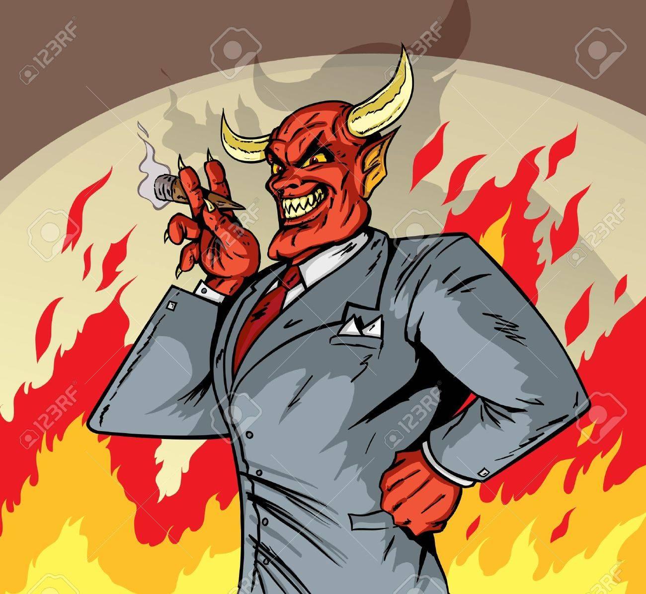 Deviled Businessman - 20342507