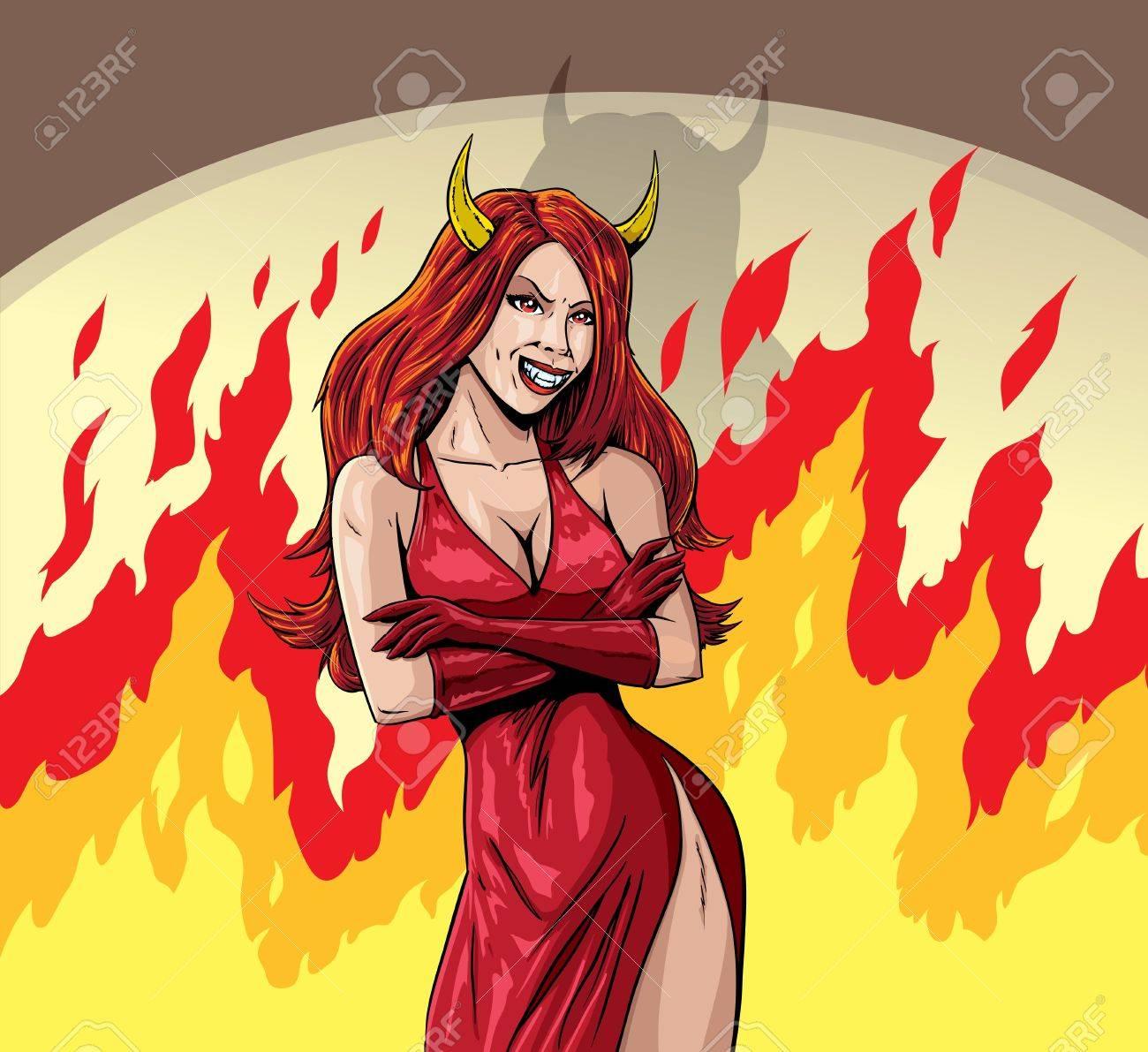 Devil girl - 20460562