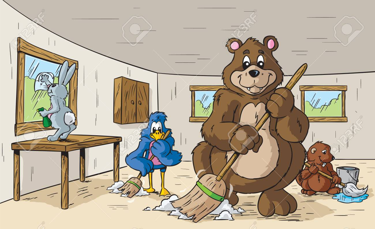Animals cleaning - 25995008
