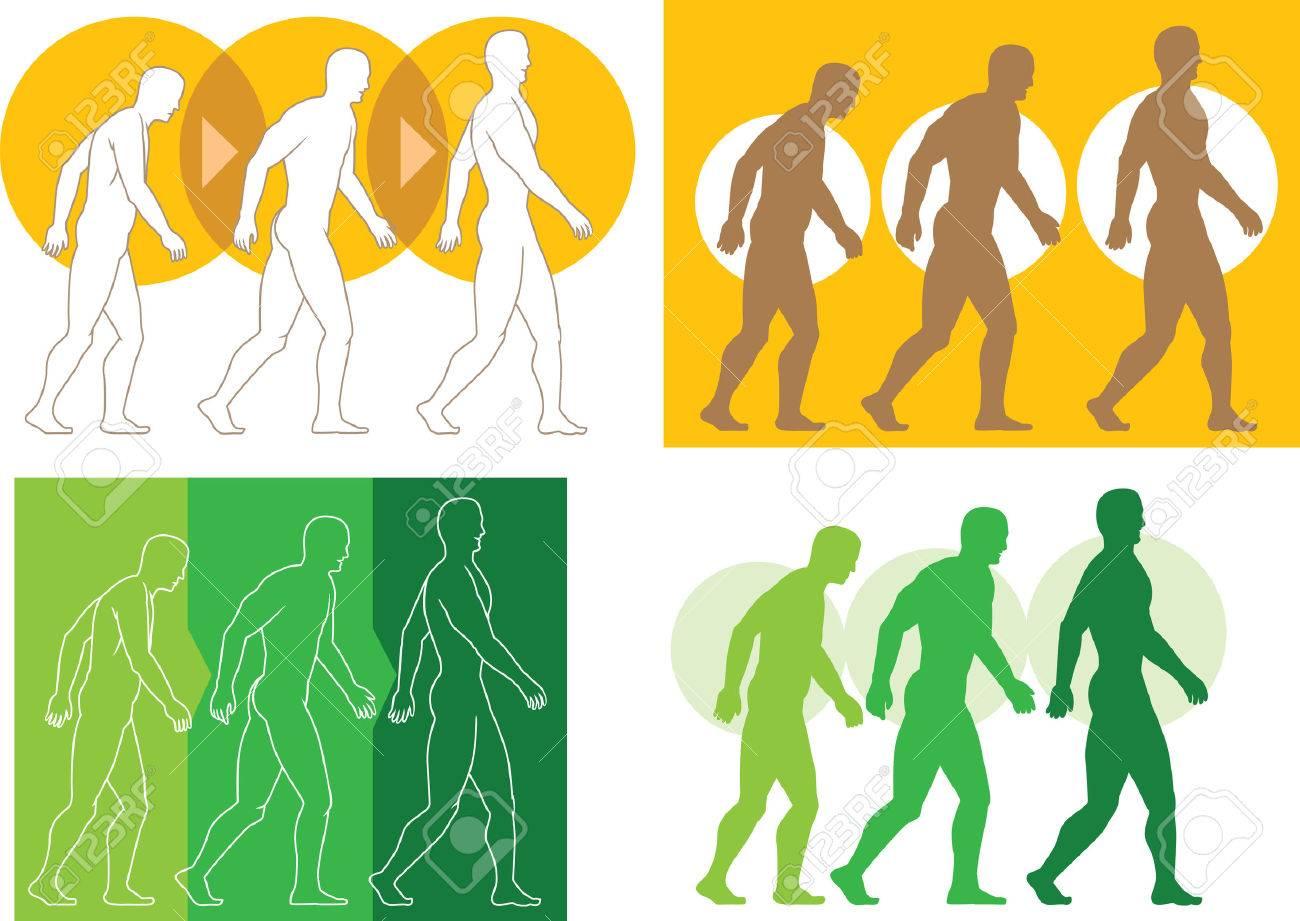 Evolving man - 25995012