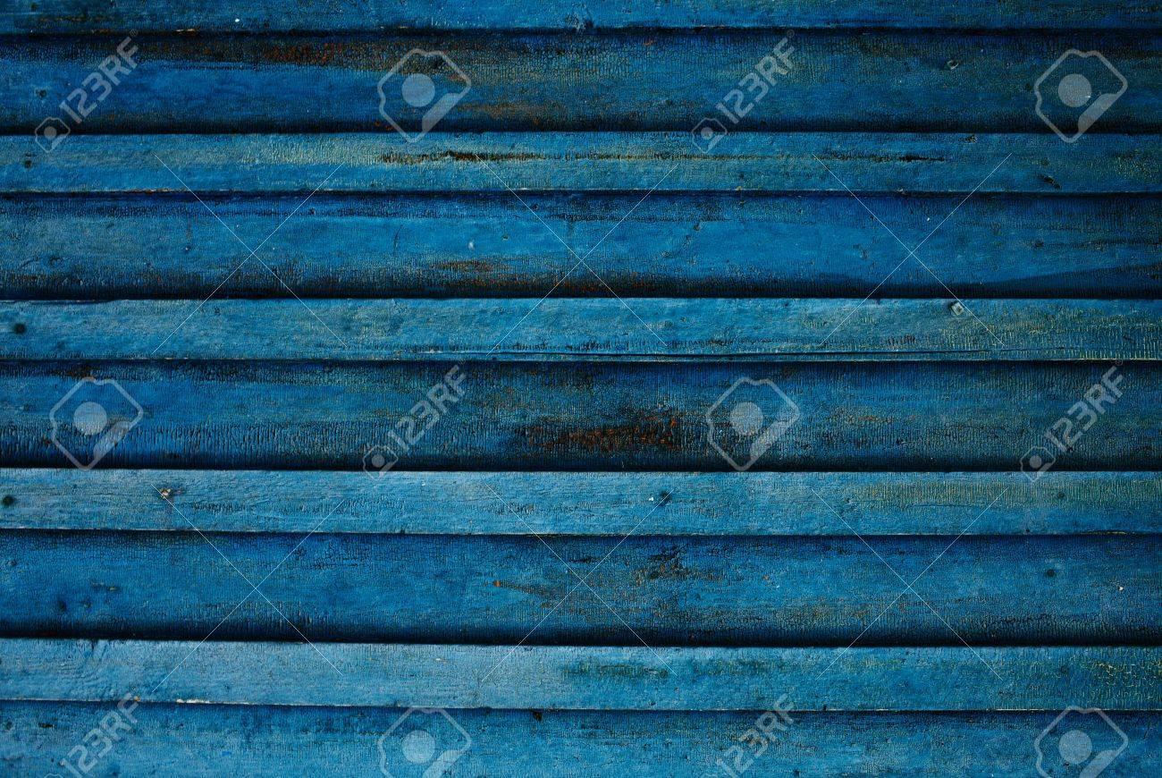 antiguo muro de madera color azul sucio imagen de alta calidad grande para los