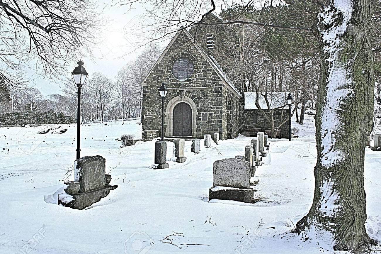 礼拝堂: 墓地は 1856 年に設立さ...