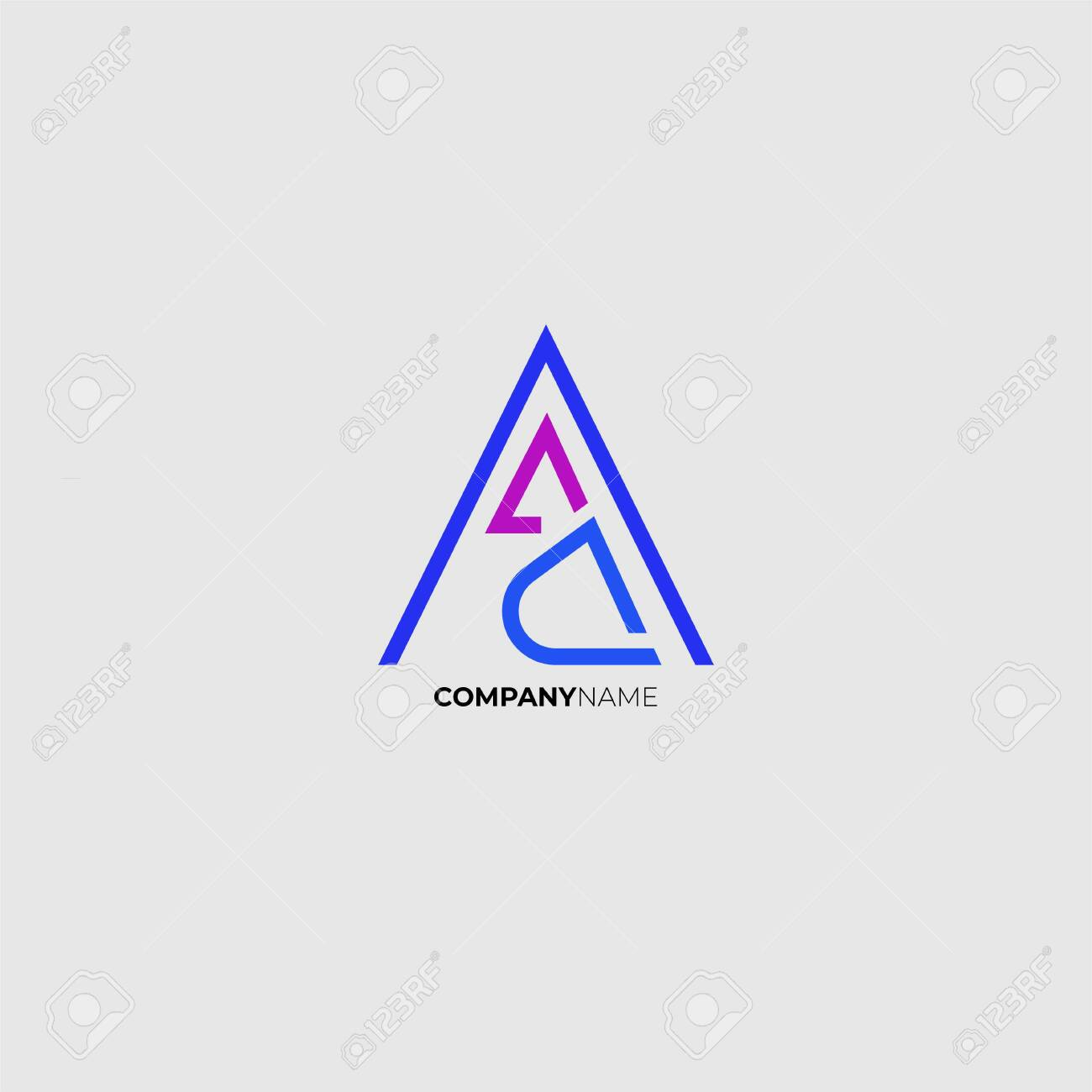 Letter A Logo Monogram For Business Identity Branding Company Royalty Free Cliparts Vectors And Stock Illustration Image 148120332