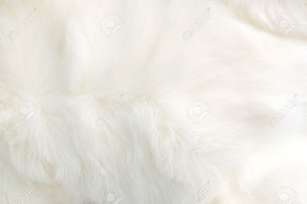 Close Up White Fabric Soft And Puffy Texture Stock Photo Picture