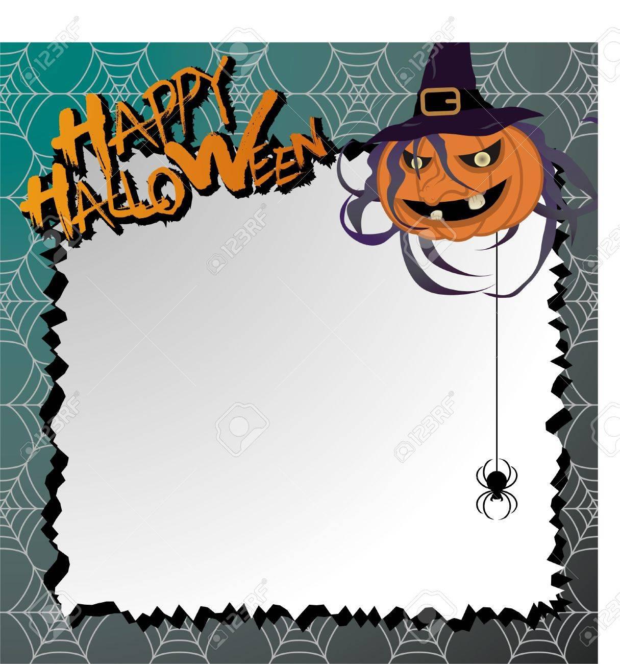 papier à lettre d'halloween