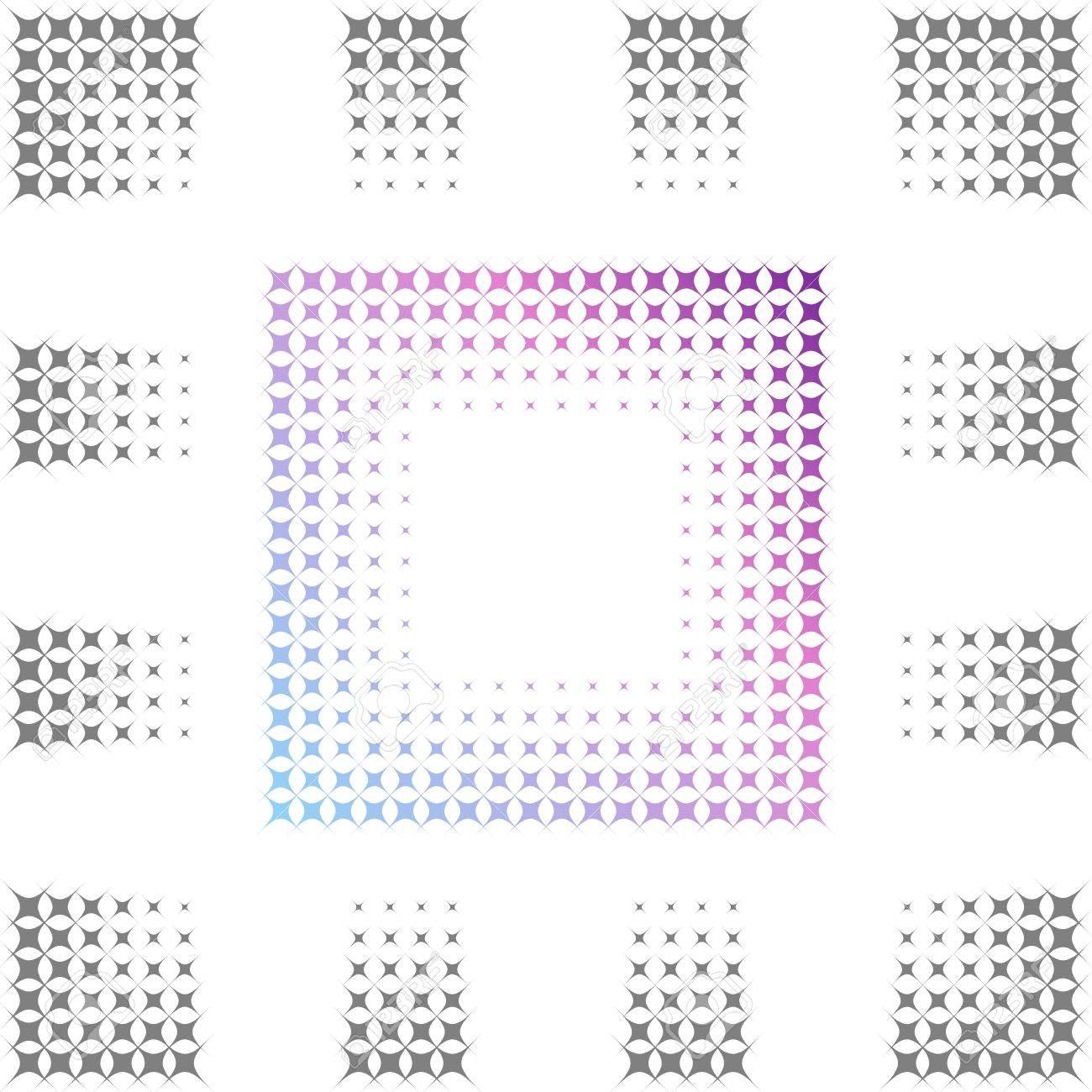 seamless Gradual frame Stock Vector - 14809476