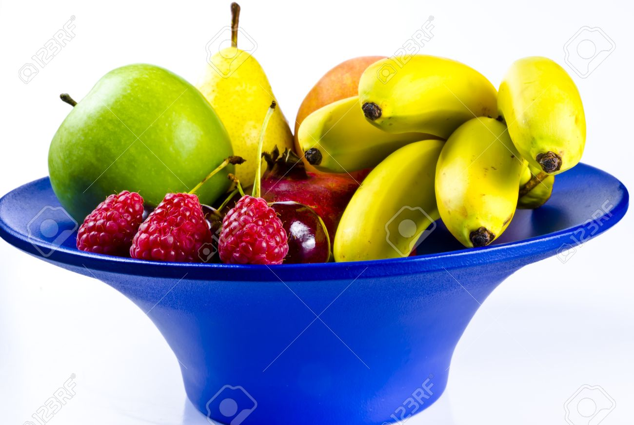 Fruit Bowls Are Sensuous And Decorative Stock Photo Picture And