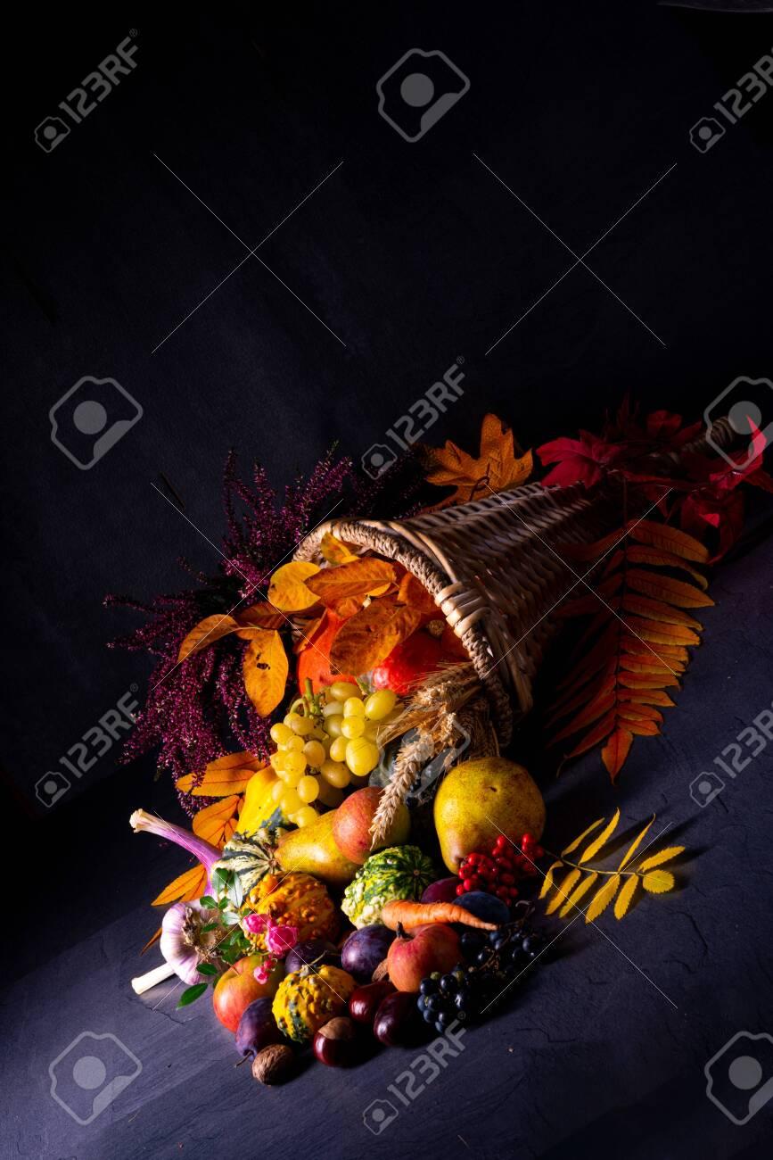 The beautiful and autumnal cornucopia - 133877922