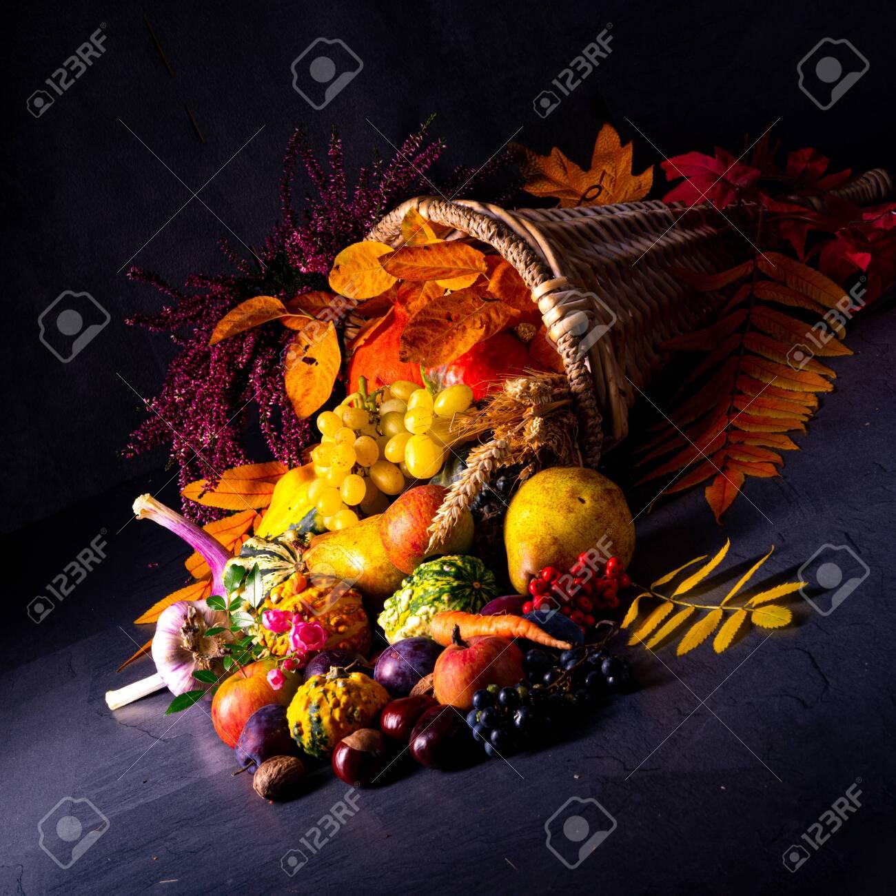 The beautiful and autumnal cornucopia - 134116138