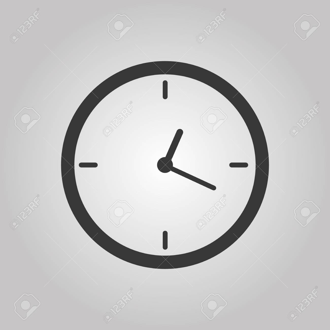 Office clock Vector illustration Eps 10 - 126720822