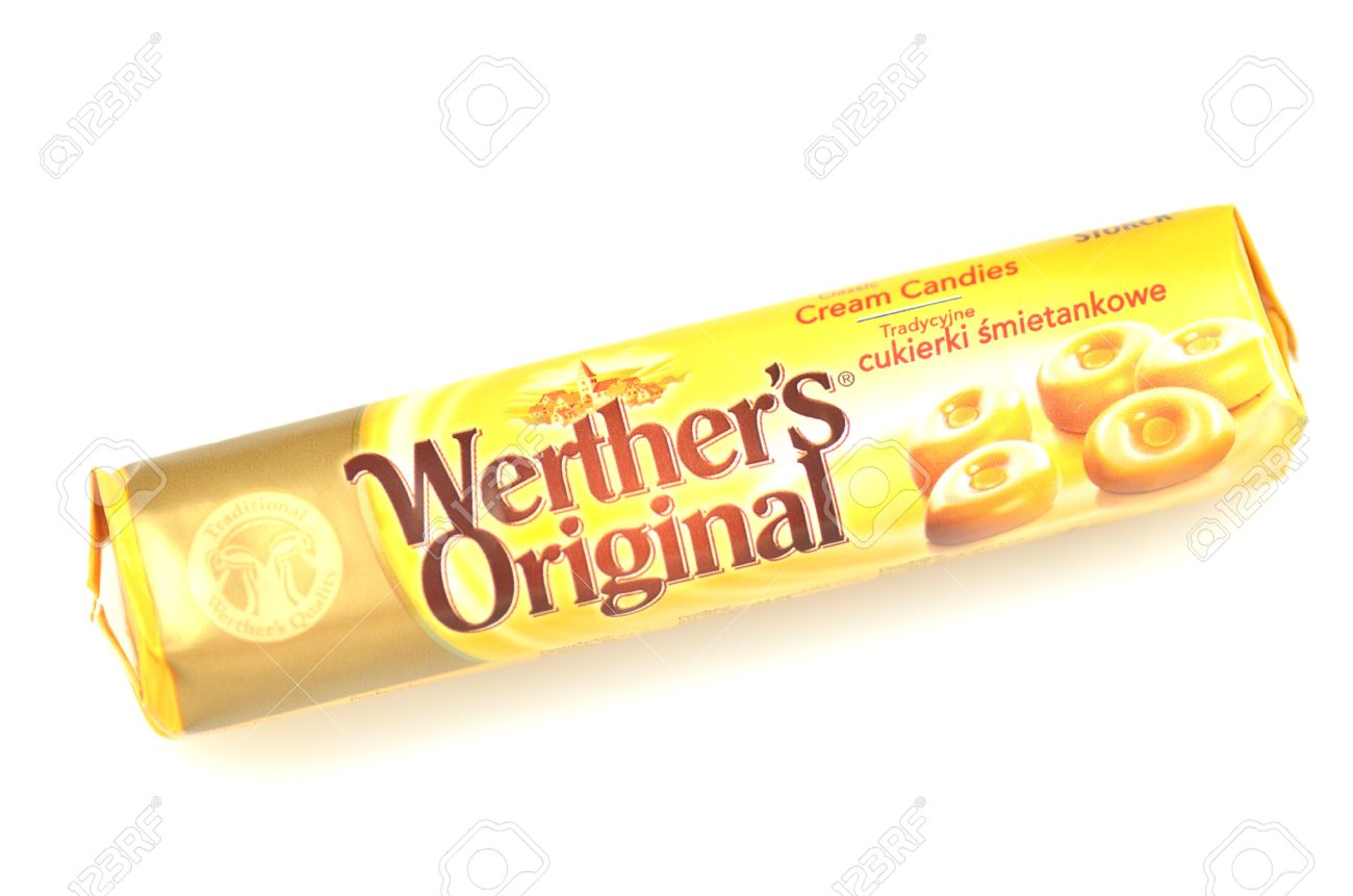 werthers original classic cream candies stock photo picture and