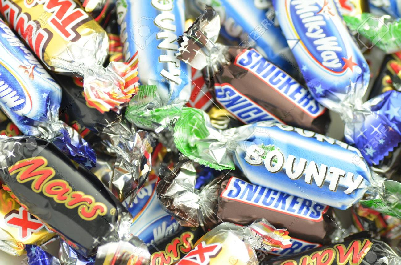 American hungry stock photos royalty free business images closeup of snickers mars bounty milky waytwix candies buycottarizona Gallery