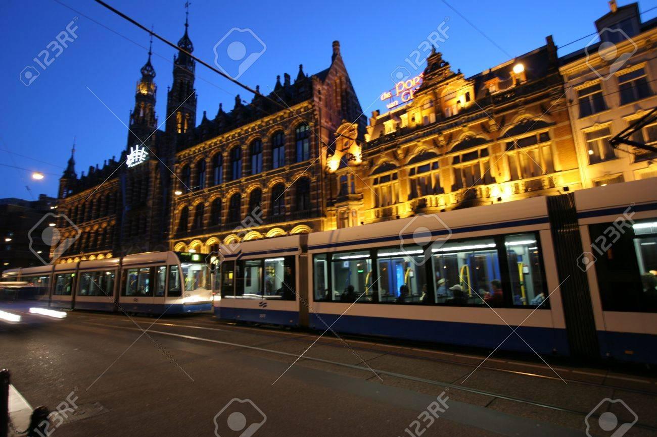 Amsterdam by Night Stock Photo - 1015474