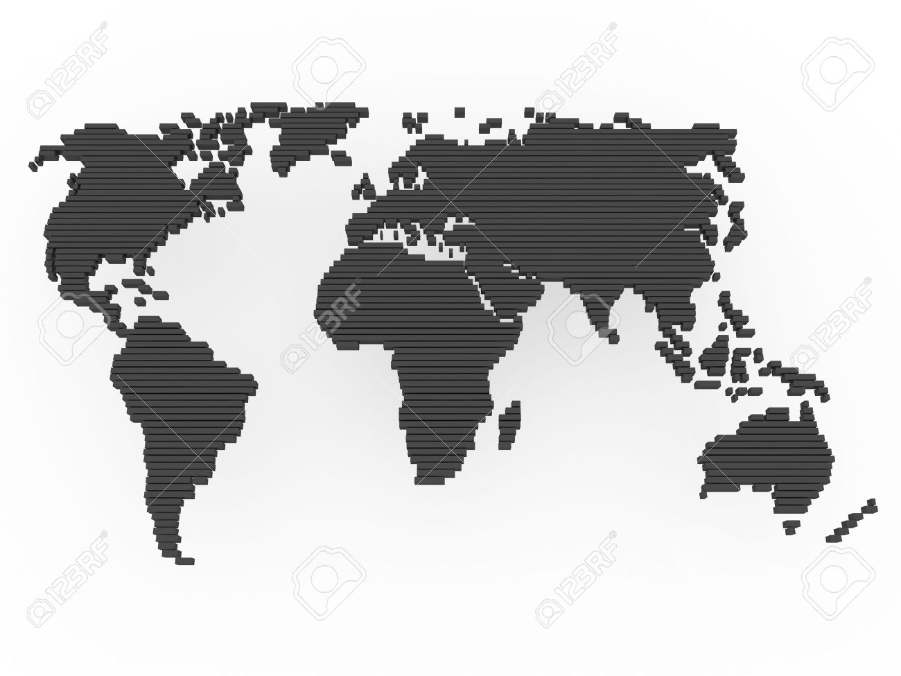 Map of asia europe america map of north america america map of world map earth europe america africa asia stock photo gumiabroncs Images