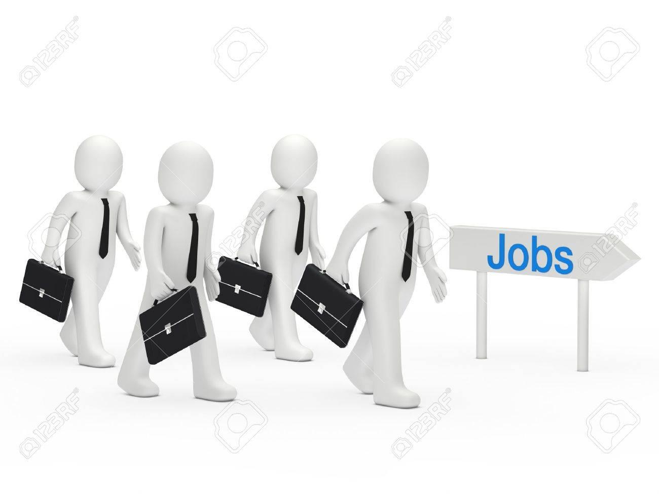 3d business man run for a job stock photo picture and royalty 3d business man run for a job stock photo 10980472