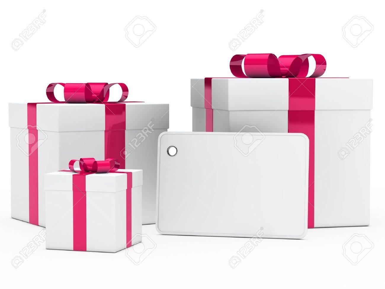 Geschenkkarton Weihnachten.Stock Photo
