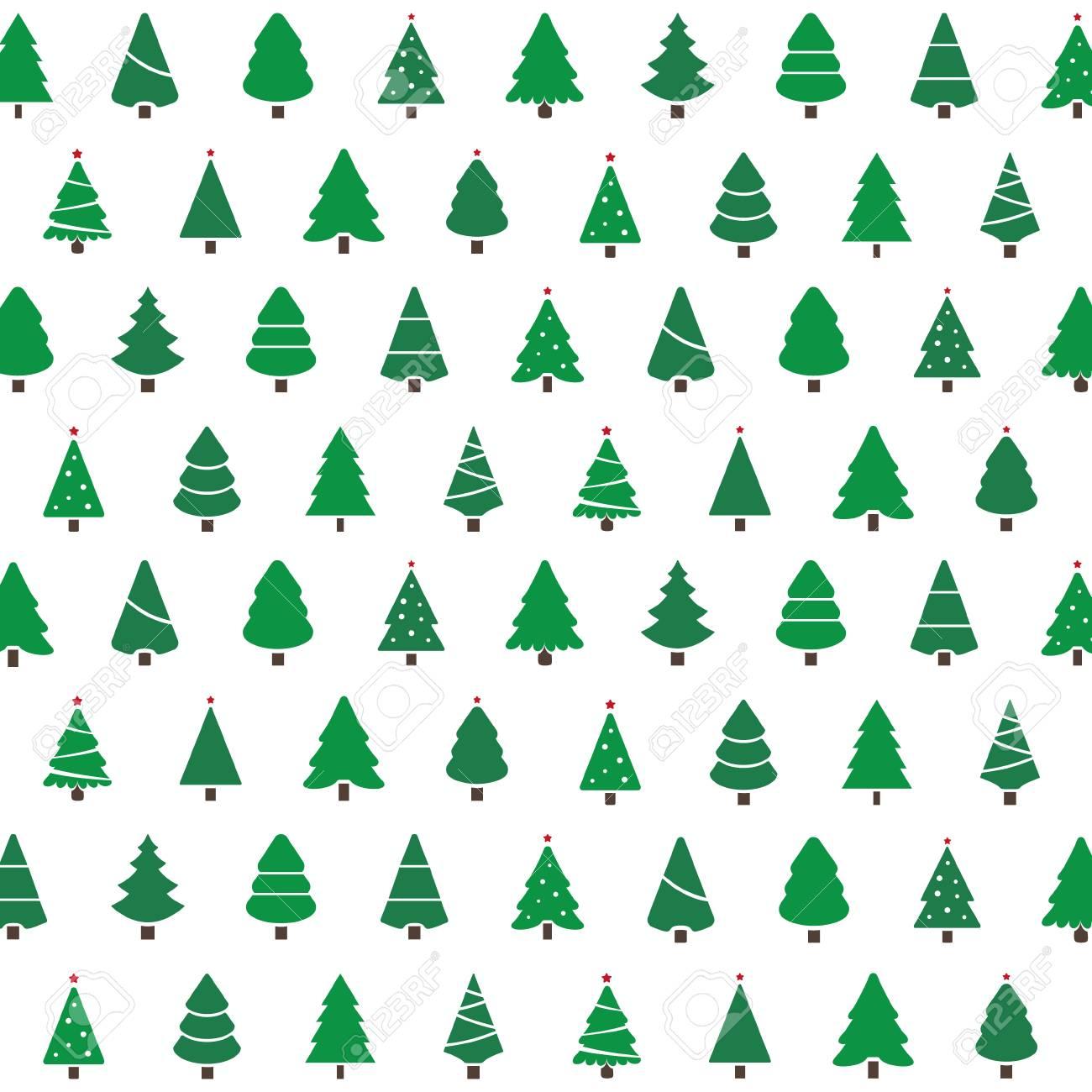 Christmas Tree Pattern.Christmas Tree Pattern Background