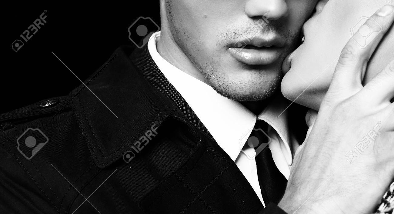 Image Couple Amoureux Noir Et Blanc mode photo noir et blanc de la belle couple passionné sensuelle