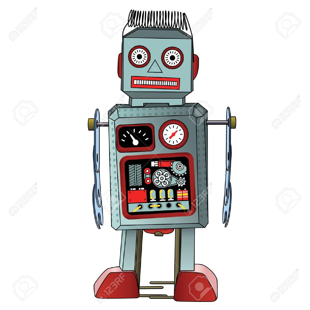 ロボット イラストのイラスト素材ベクタ Image 81481570