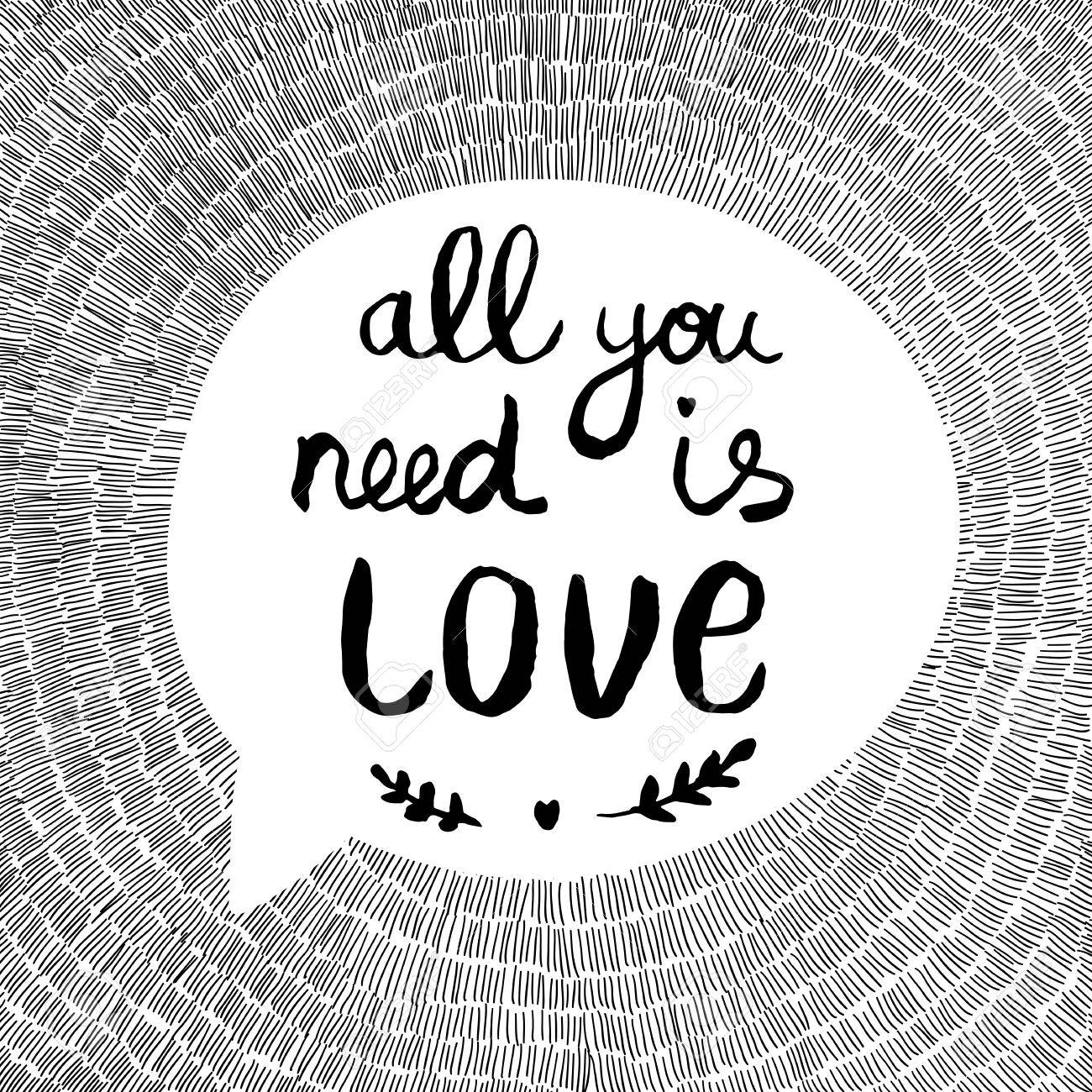 The felicitacion love is all you need
