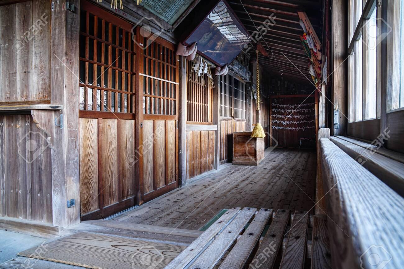 Japanese shinto shrine entrance - 149412042