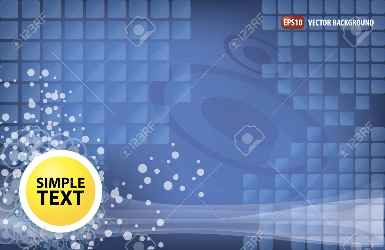 Abstract background with squares Stock Vector - 12796810