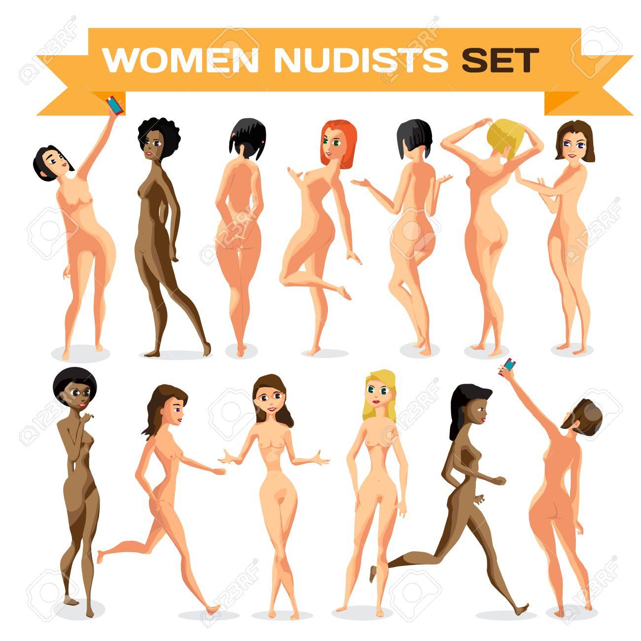 Nudisti ragazza nuda