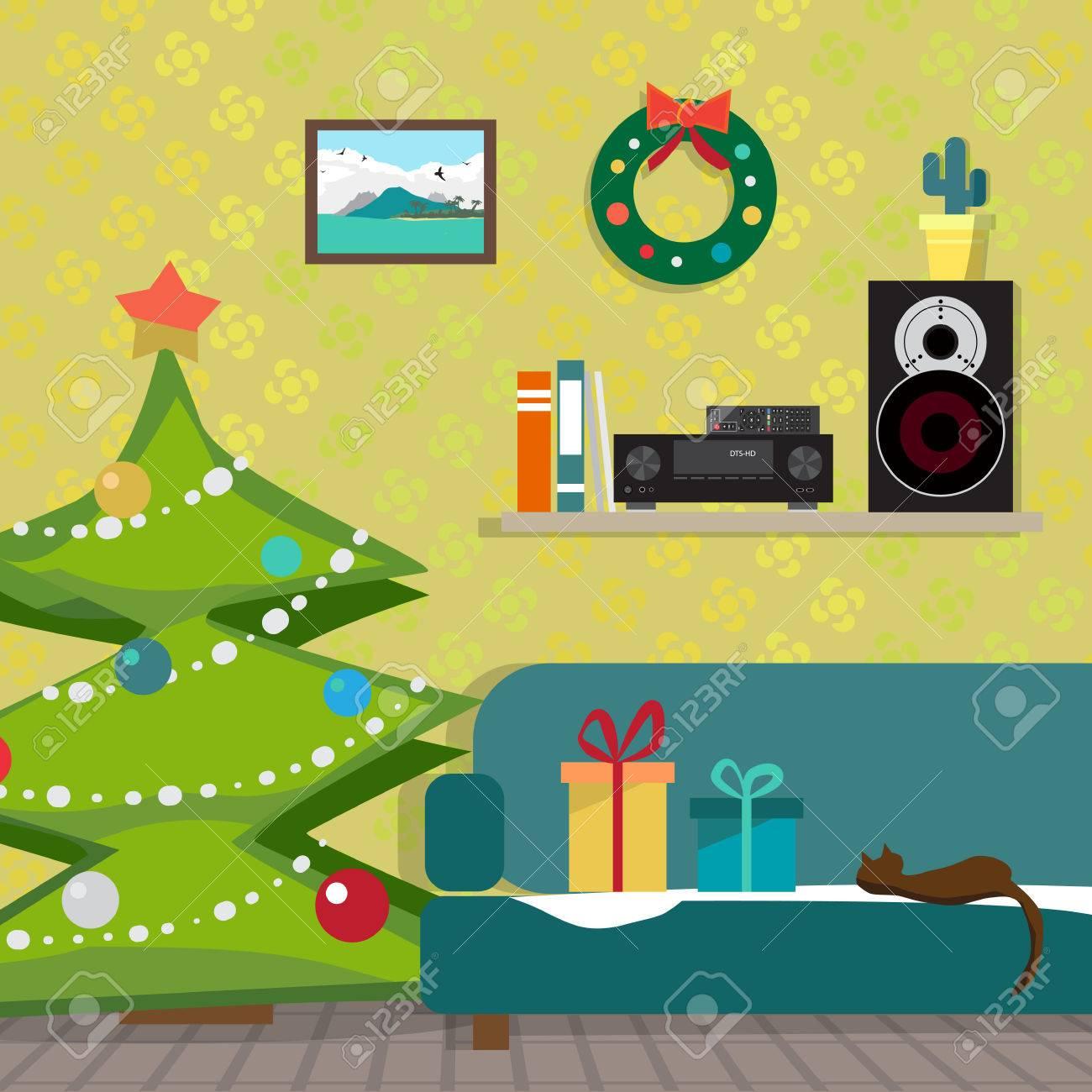 https://previews.123rf.com/images/darkink/darkink1610/darkink161000060/67298818-weihnachtsraum-interieur-weihnachtsbaum-geschenk-und-dekoration-der-musikempf%C3%A4nger-und-der-lautspreche.jpg