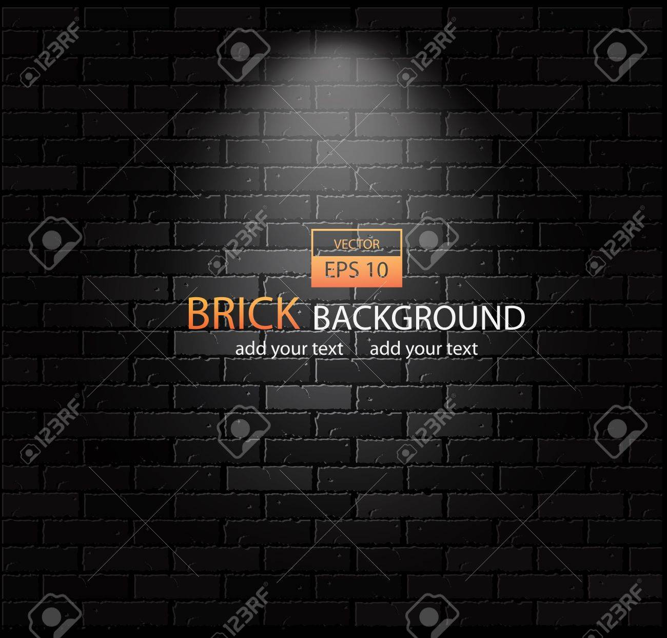 Brick-wall background Stock Vector - 14605988