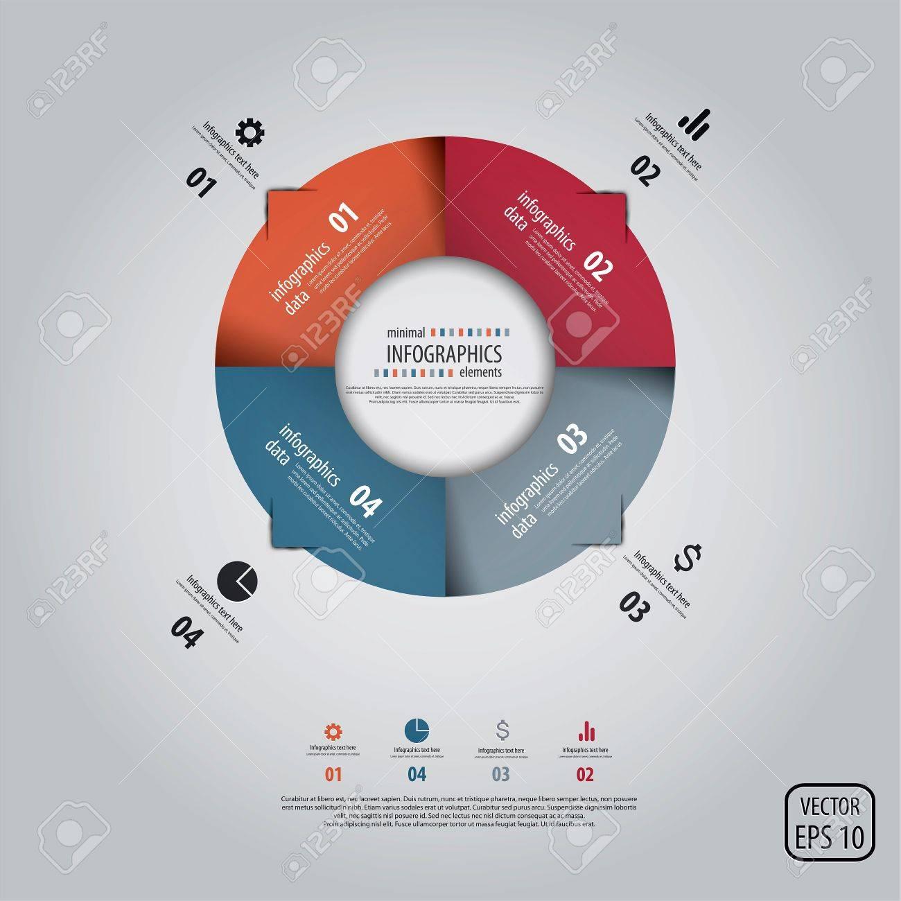 Minimal infographics design. Stock Vector - 18228038