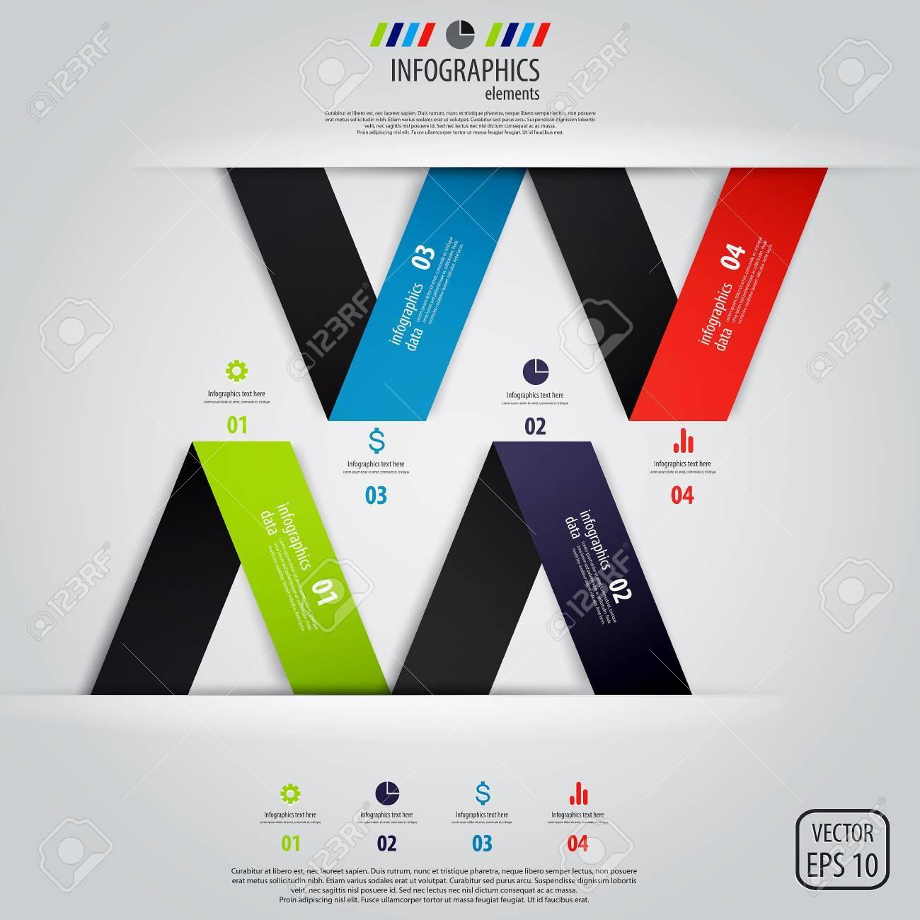 Minimal infographics design. Stock Vector - 18228040