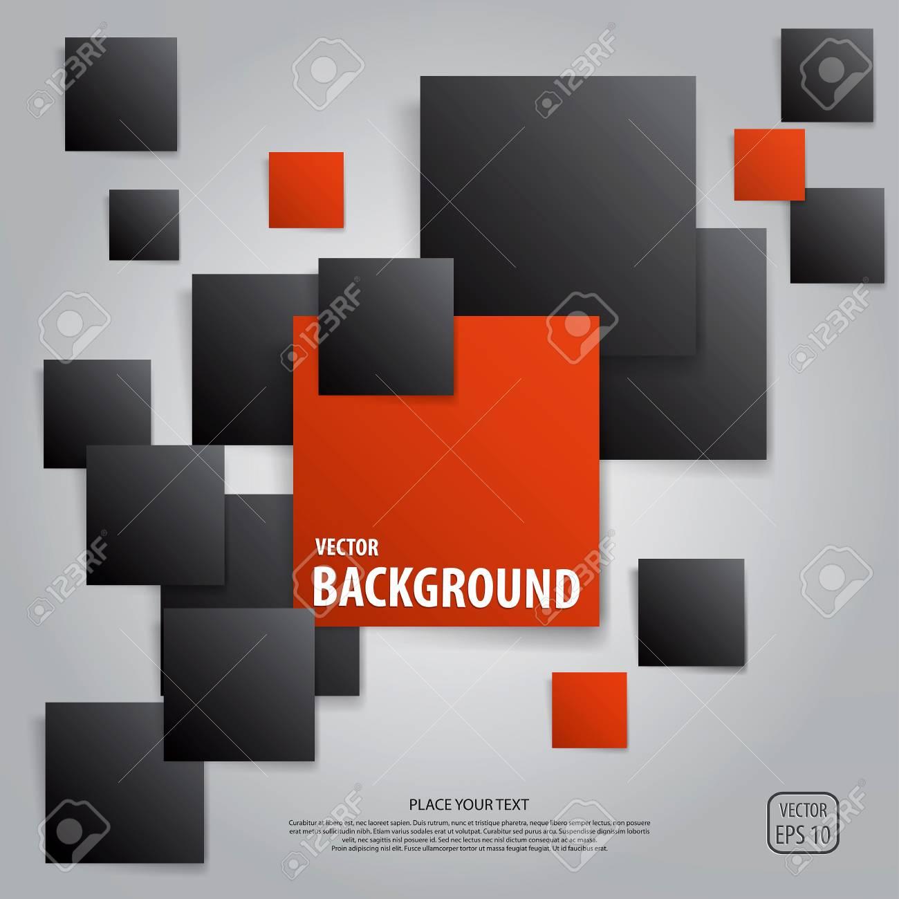 Squares design elements. Vector Stock Vector - 18533893