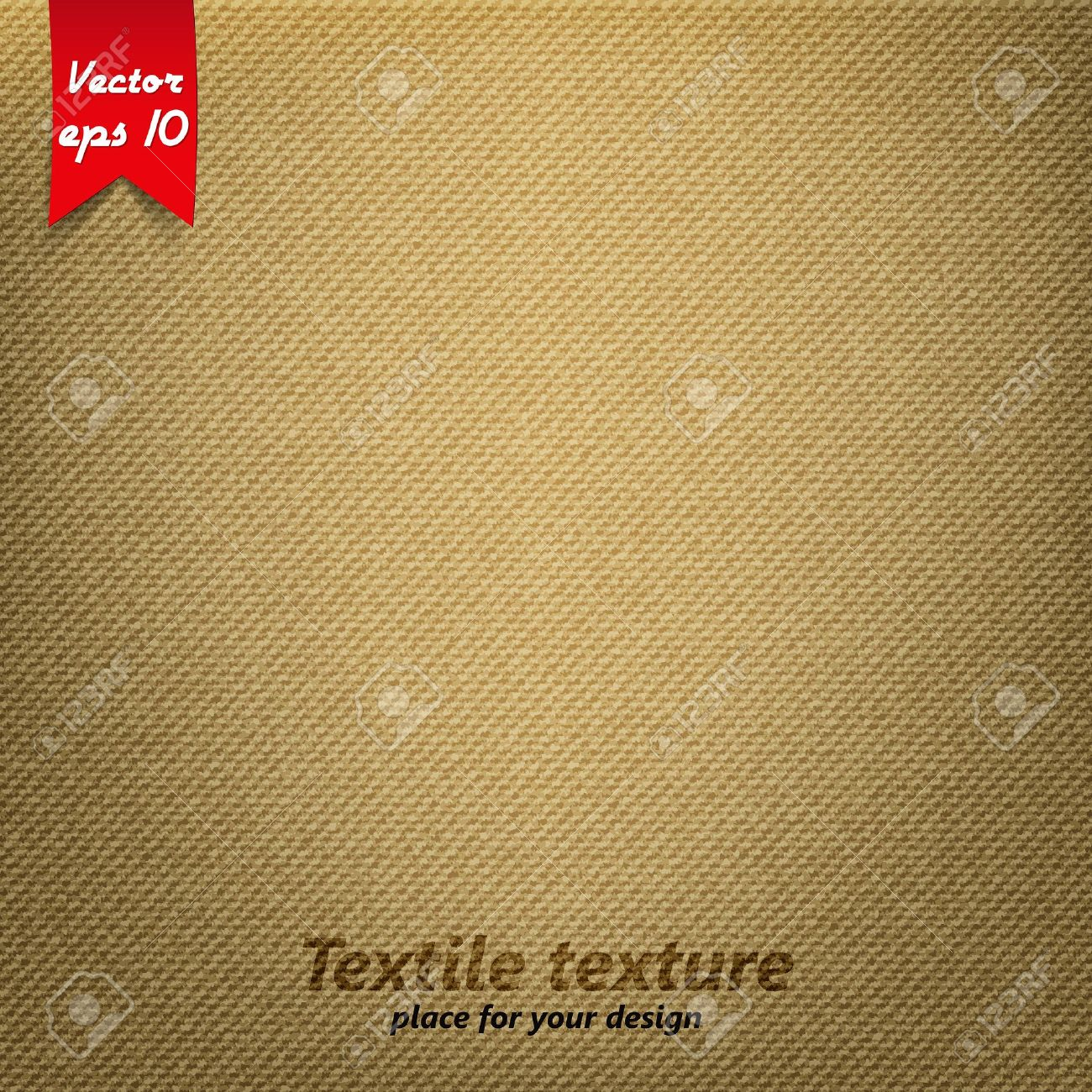 Brown Fabric Texture. Vector Royalty Free Cliparts, Vectors, And ...