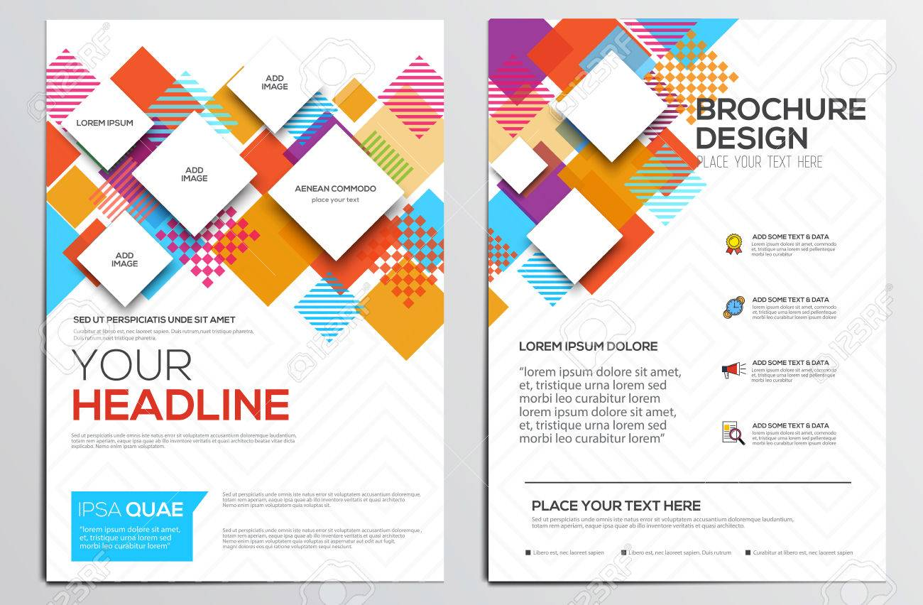 abstract geometric design template layout for magazine brochure abstract geometric design template layout for magazine brochure flyer booklet cover annual report in a4 size