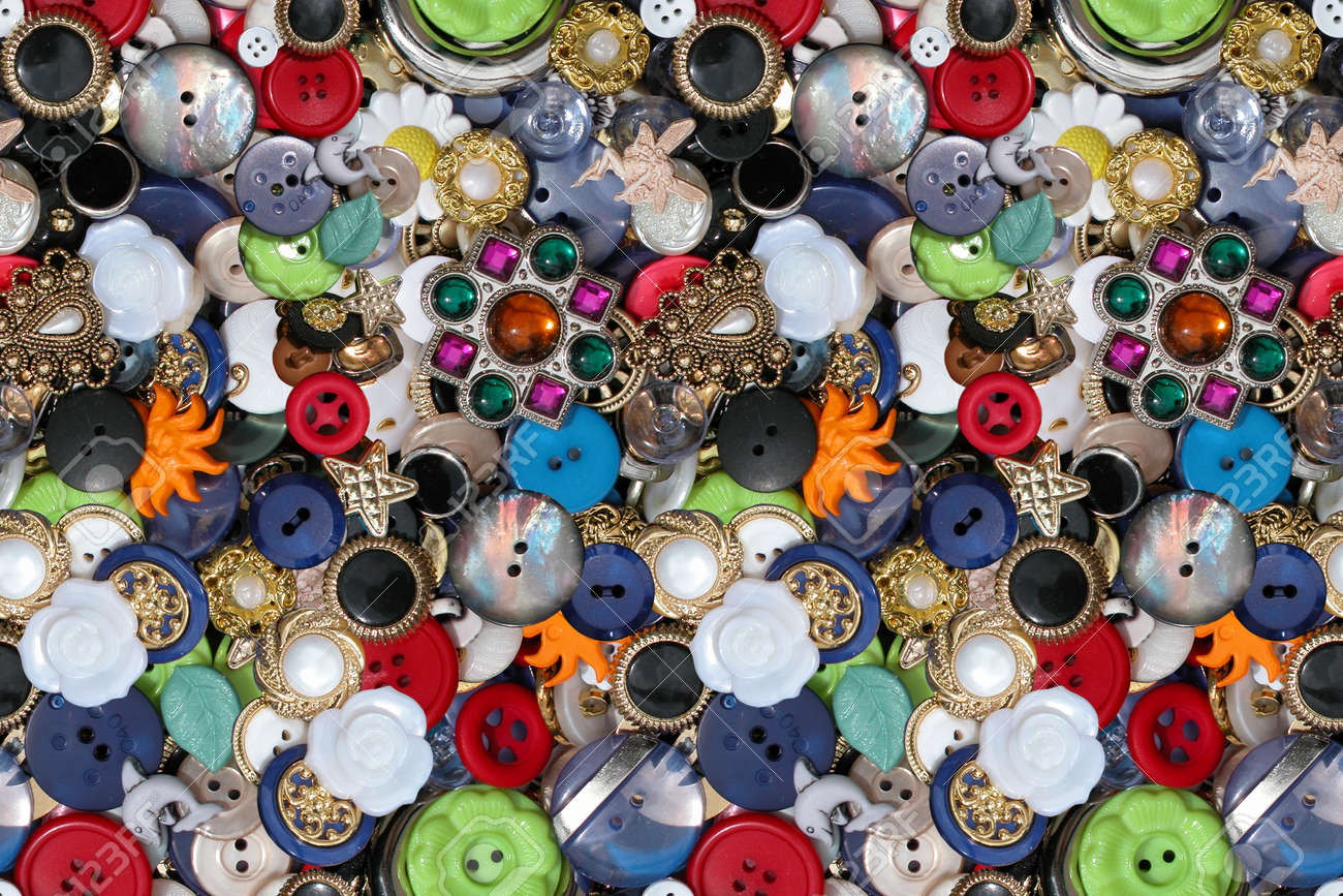 Button Utopia wallpaper Stock Photo - 20481865