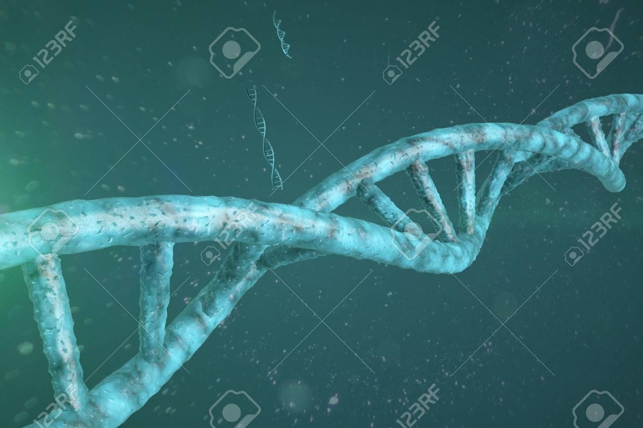 3D DNA Strand - 37115537