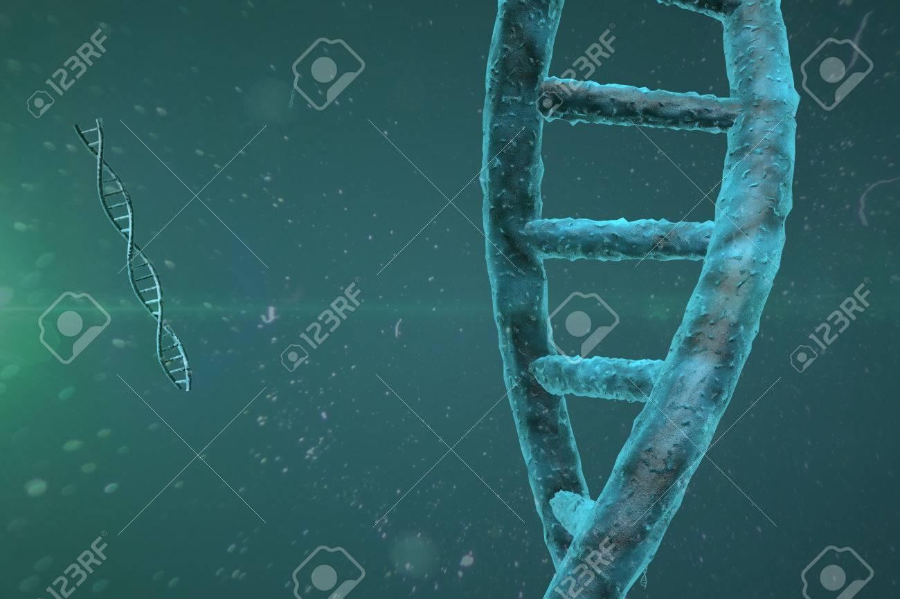3D DNA Strand - 37115538