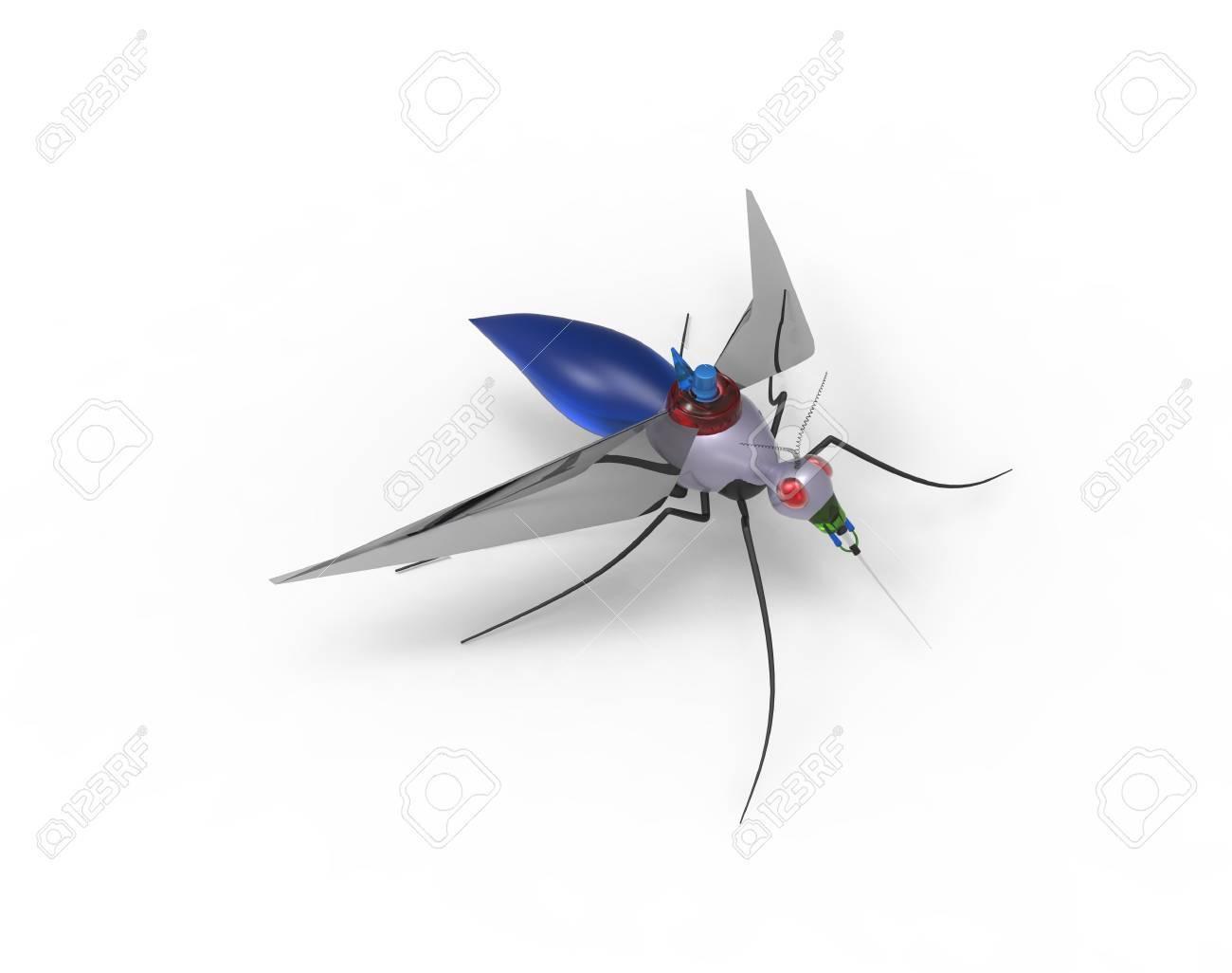 Futuristic Mosquito Nano Robots - 38448640