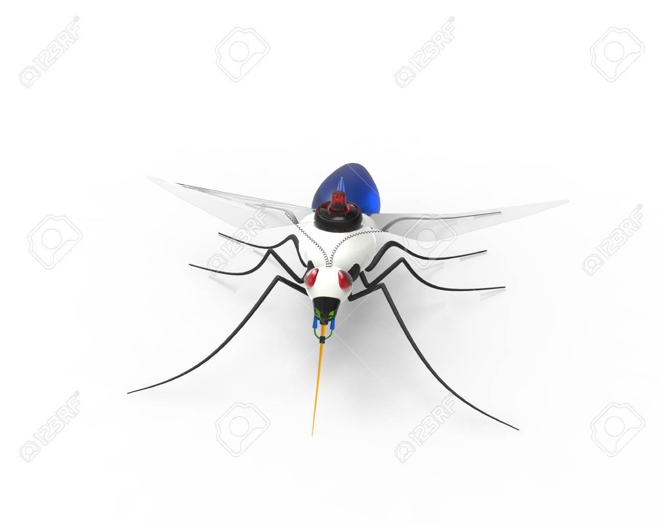Futuristic Mosquito Nano Robots - 38517519