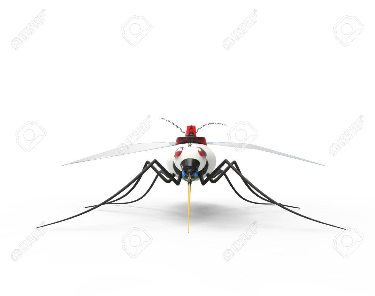 Futuristic Mosquito Nano Robots - 38517520