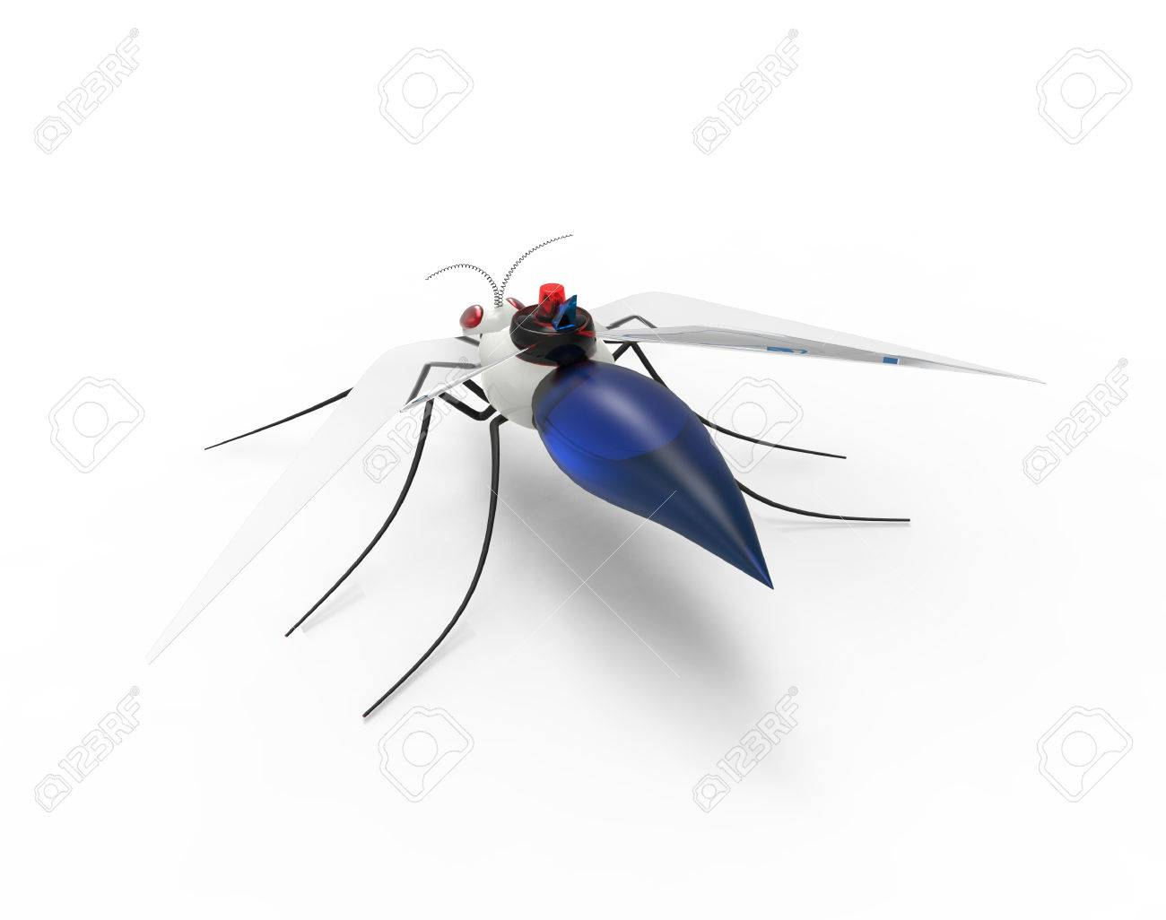 Futuristic Mosquito Nano Robots - 38517525
