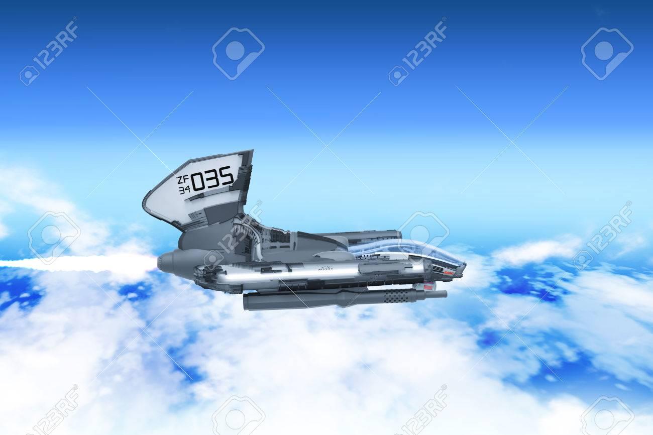 Combat Aerial Vehicle Prototype - 60938922