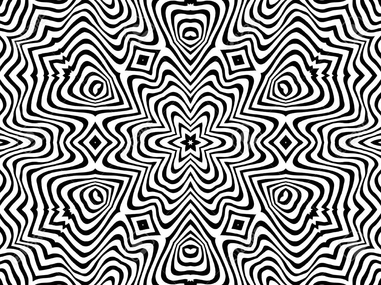 Abstract Monochrome Black And White Pattern Background Stock Photo ...