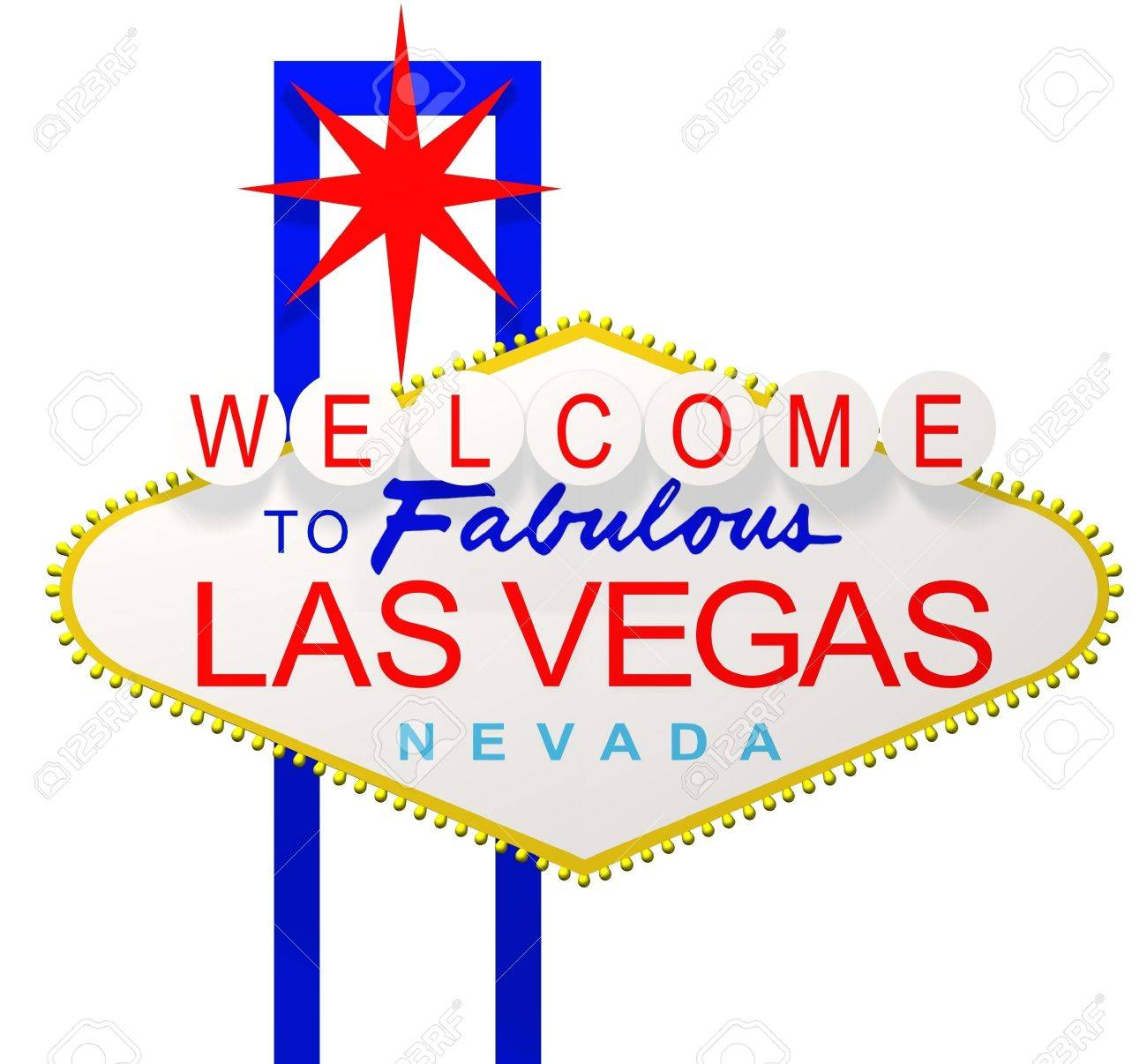3d render of the sign welcome to fabulous las vegas nevada stock rh 123rf com las vegas clip art borders las vegas clip art free