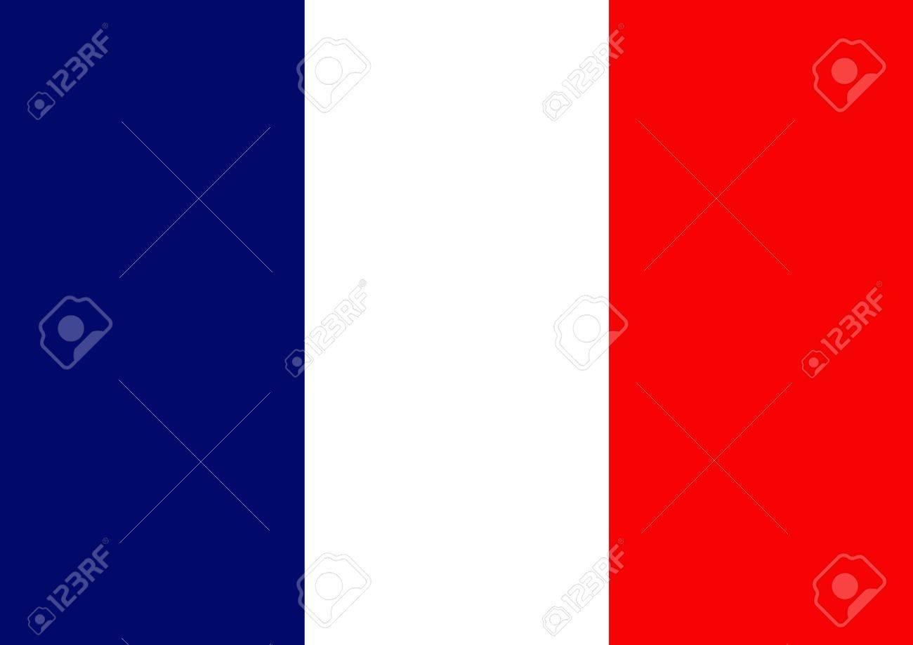 フランス国旗のイラスト の写真素材画像素材 Image 7393051