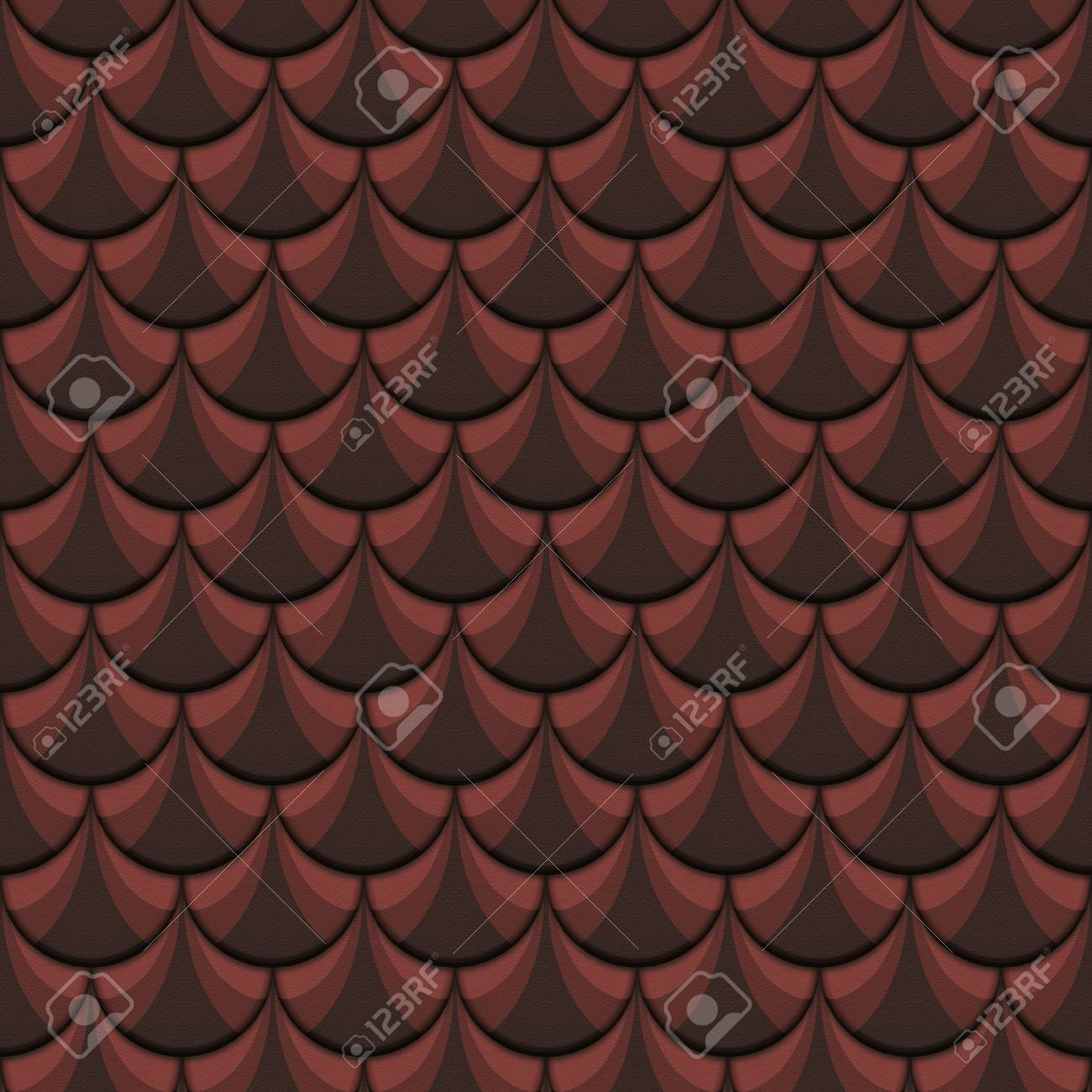 Illustration of an abstract retro seamless background Stock Illustration - 12755734