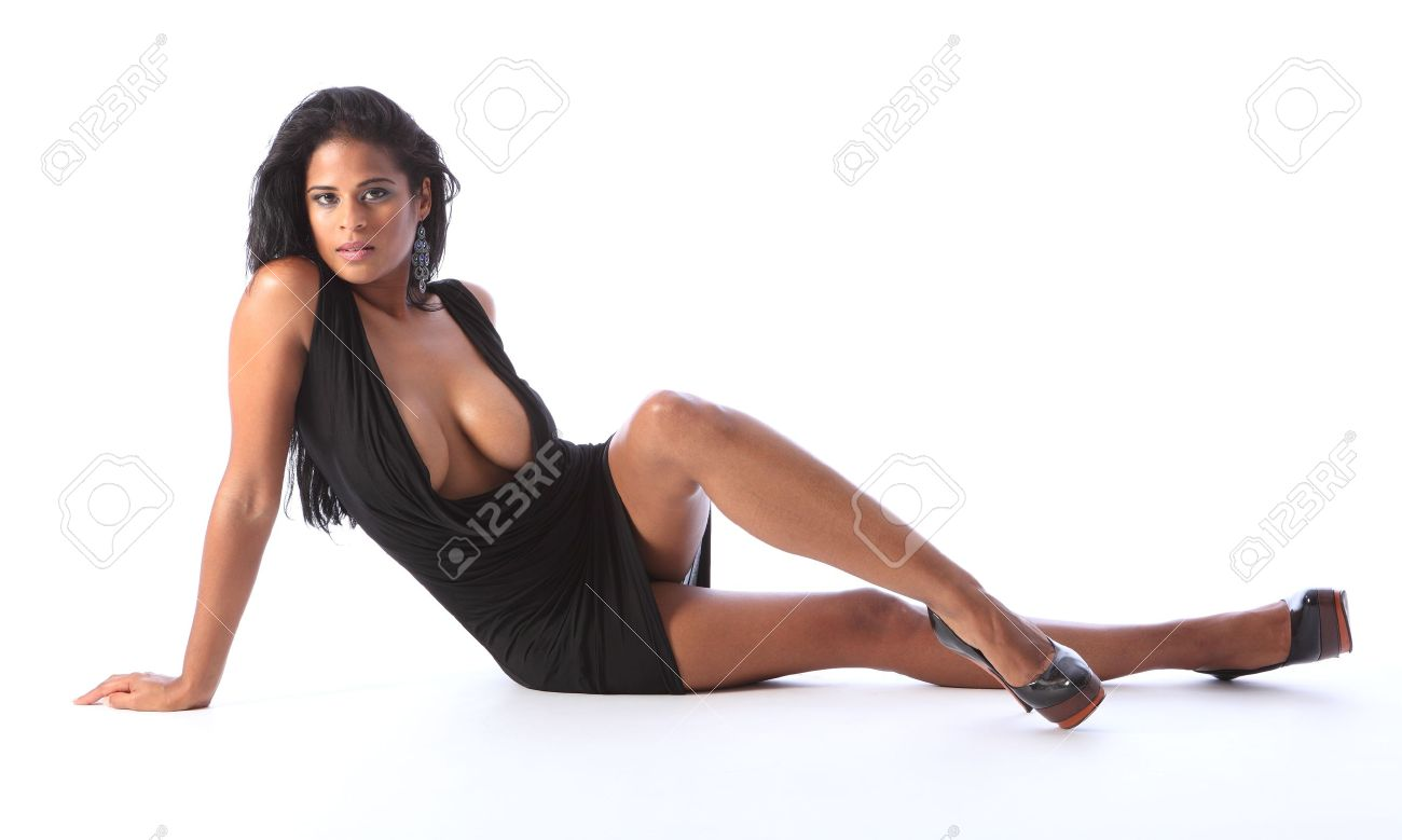 Pretty african american legs