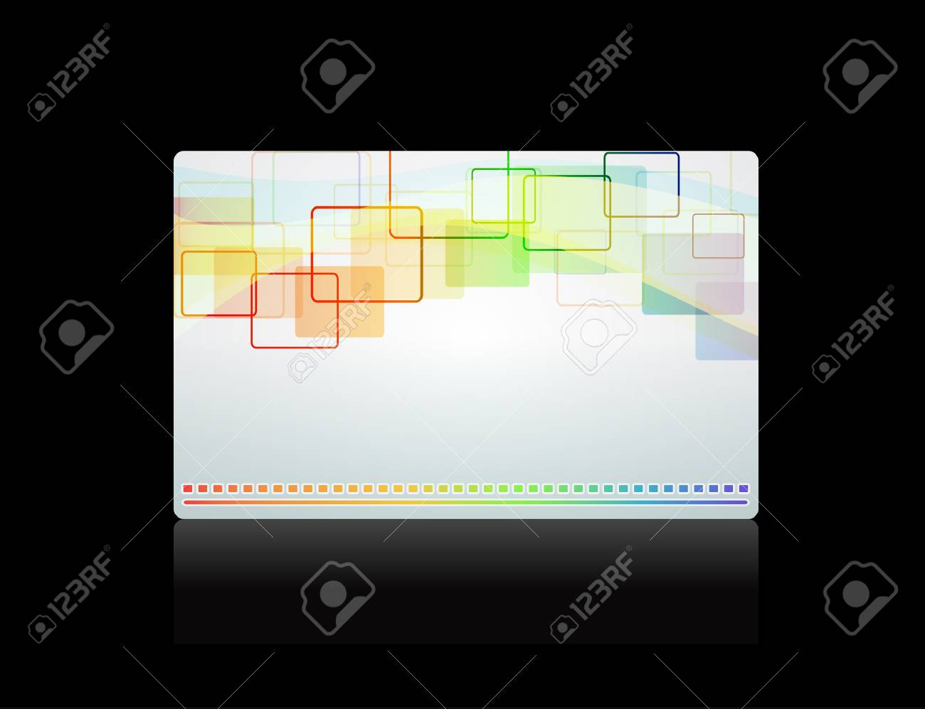 Gift card, template Stock Vector - 8340900