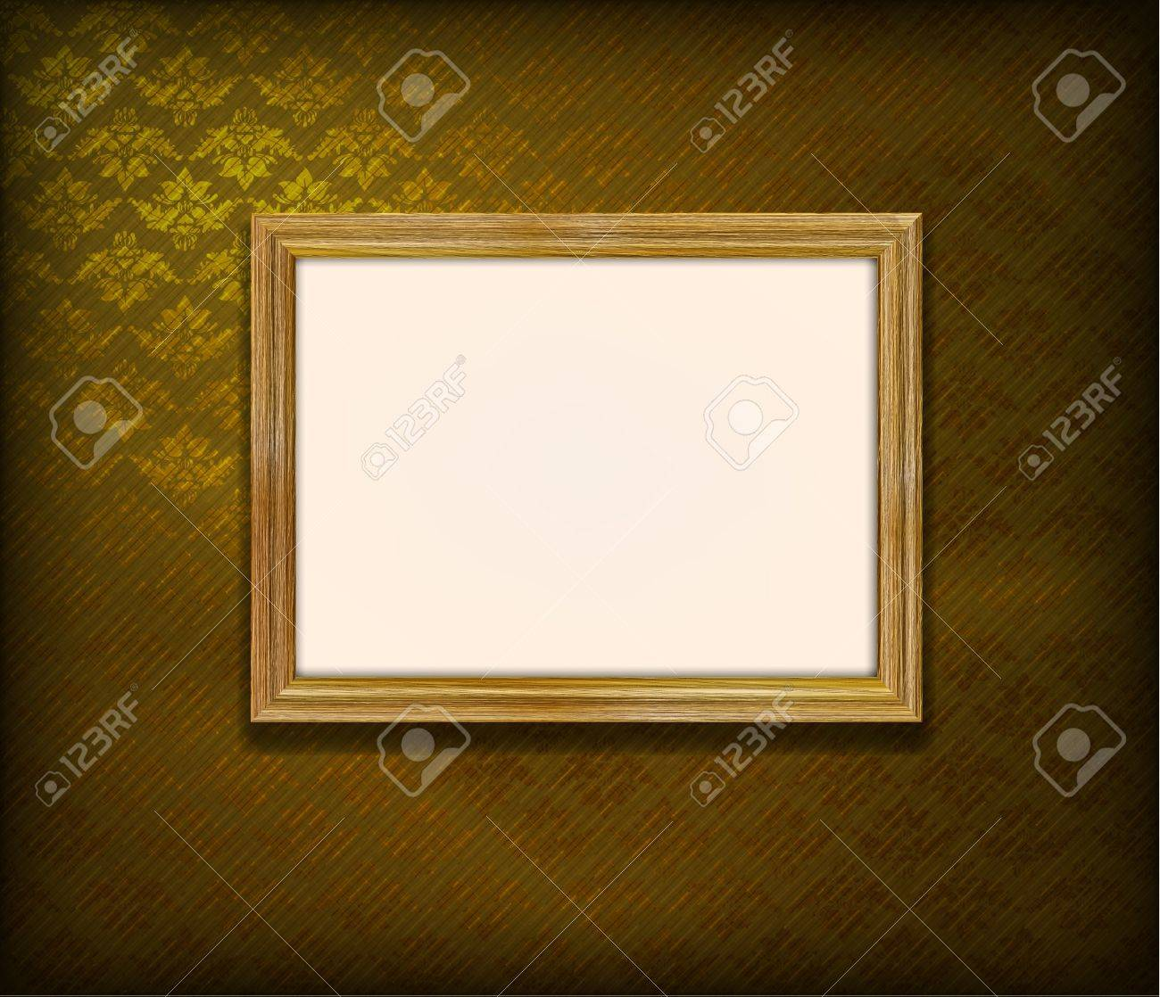 Old Wooden Picture Frames Old Wooden Frame For Photo on